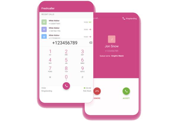 Grazie alla app mobile per iOS e Android, puoi rispondere e visualizzare le conversazioni con un click.