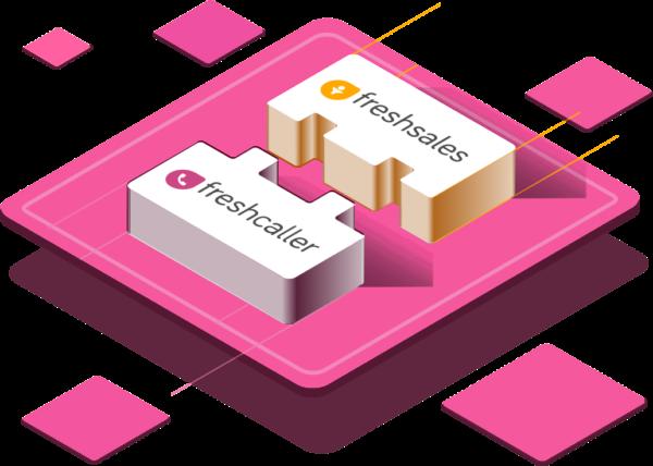 Integra Freshcaller con Freshsales o Freshdesk, e collega le chiamate a ticket o lead in pochi minuti.