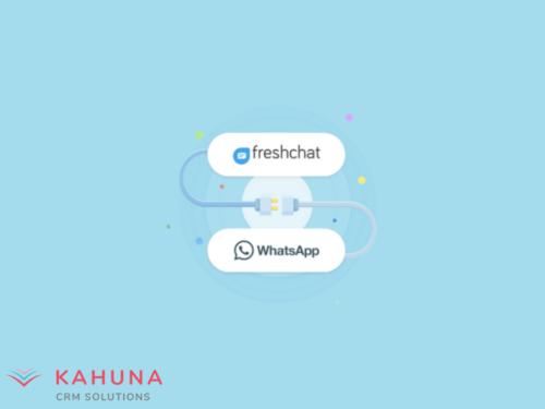 Freshchat e Whatsapp